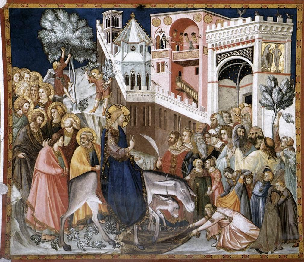 Pietro Lorenzetti:  Entry of Christ into Jerusalem