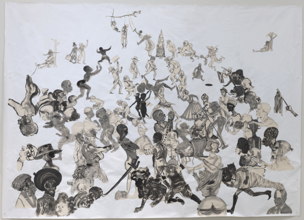 Kara Walker: The Entry of Christ into Journalism