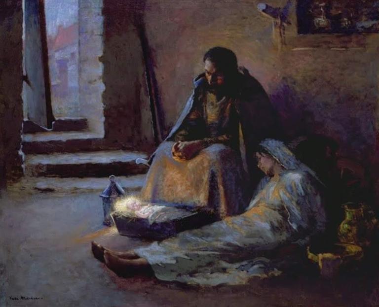 10 Juilus Garibaldi Melchers Nativity 1891