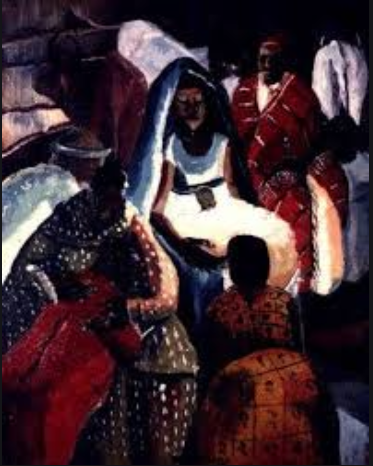 4 Francis Musango Christ in the Manger