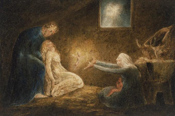 9 William Blake Nativity